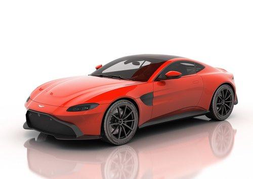 aston martin vantage 2019  car  sport car