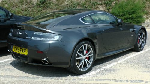 Aston Martin Vantage Car Rear