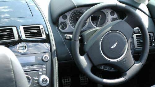 Aston Martin Vantage Steering Wheel