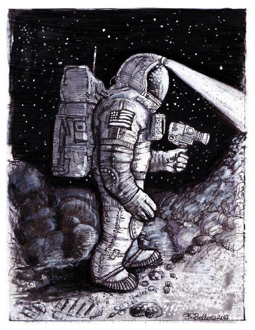astronaut cosmonaut comics