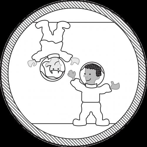 astronaut zero gravity gravity-less