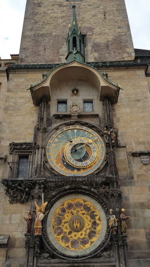 astronomical clock town square as