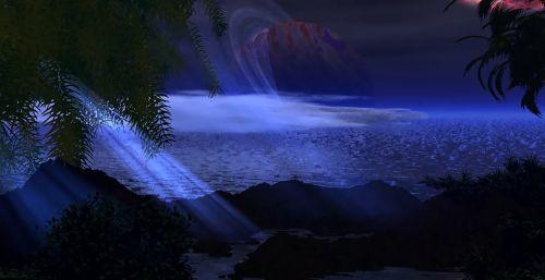 astronomy ocean planet