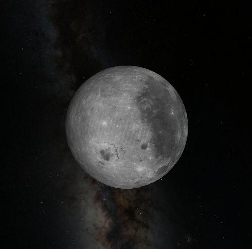 astronomy moon sky