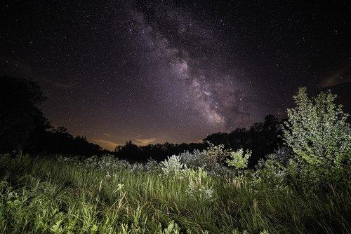 astrophotography  milky way  galaxy