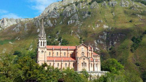 asturias covadonga church