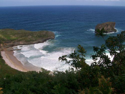 asturias beach spain