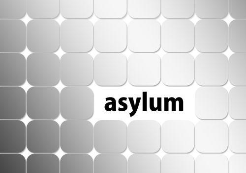 asylum politically keyboard
