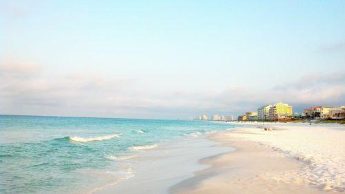 At The Beach Of Atlantic Ocean