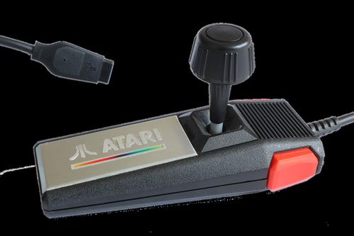 atari  joystick  console