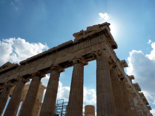 athens parthenon greece