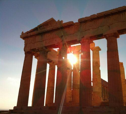 athens the parthenon greek