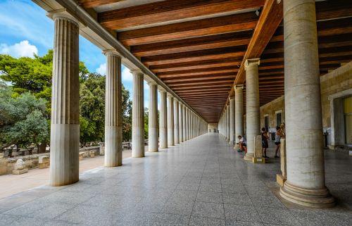 athens columns greece