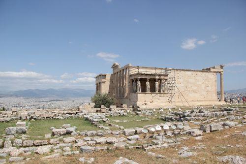 athens acropolis the erechtheion