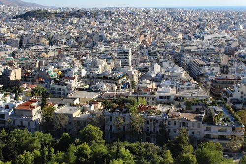 athens close settlement southern european large city