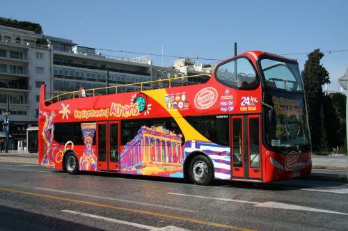 Athens Greece Tour Bus