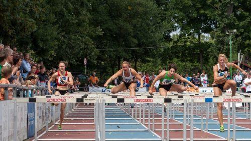 athletics sport hurdles
