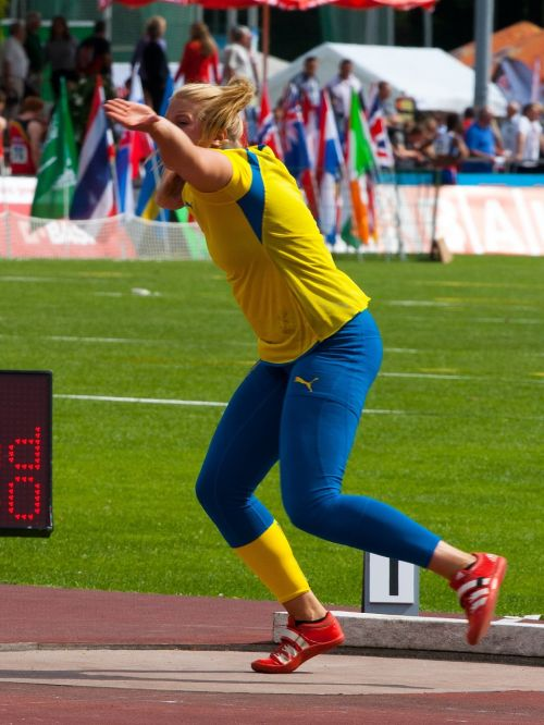 athletics shot put sport