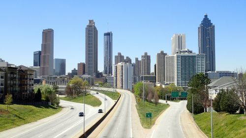 atlanta city roadway