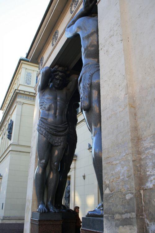 Atlantes Statue  Figures