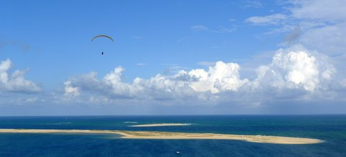 atlantic ocean  france  dune