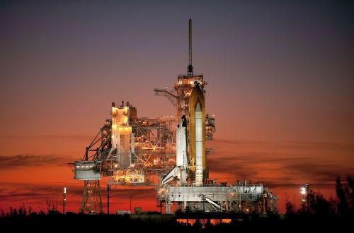 atlantis space shuttle rocket