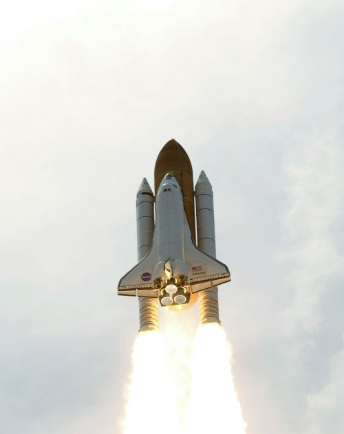 atlantis space shuttle launch mission