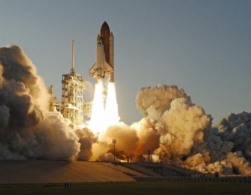 Atlantis erdvėlaivis, paleisti, misija, astronautai, pakilimas, raketos, erdvėlaivis, dangus, Orbita, tyrinėjimas, erdvėlaivis, skrydis, pakilkite