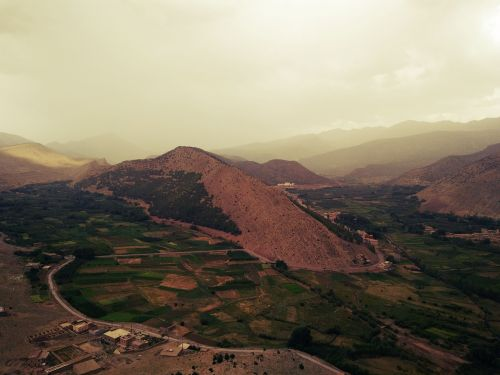 atlas mountains village