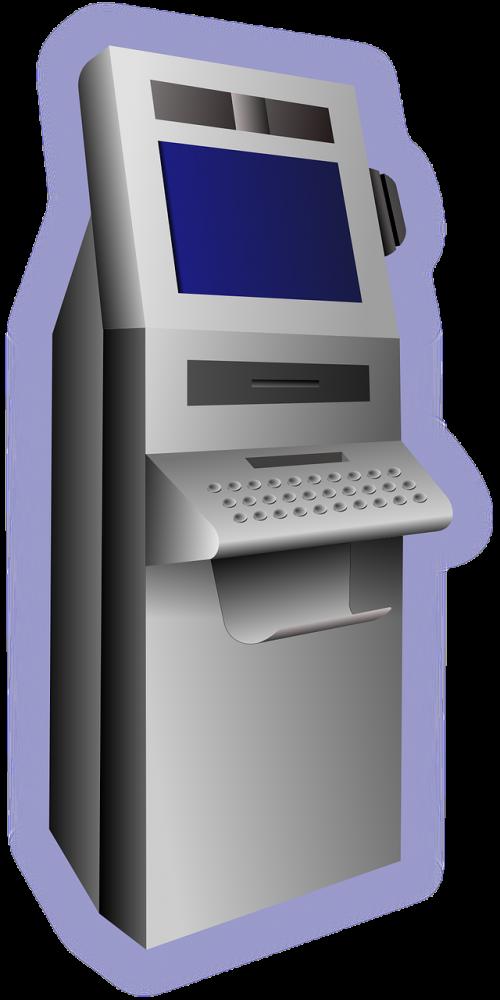 atm terminal withdraw money