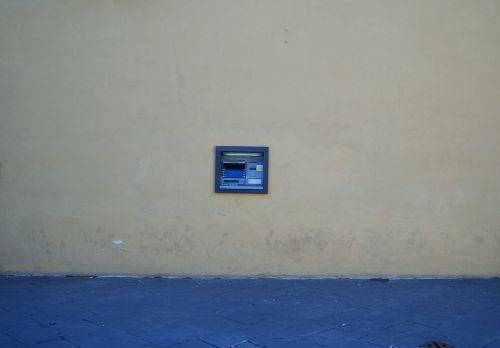 atm cash point money