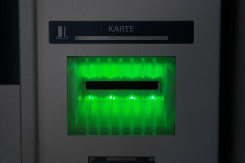 atm card slot slot
