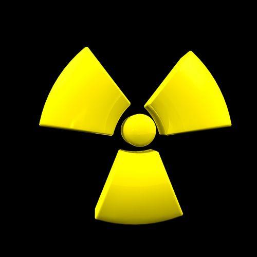 atom nuclear power symbol