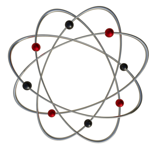 atom electrons jewellery