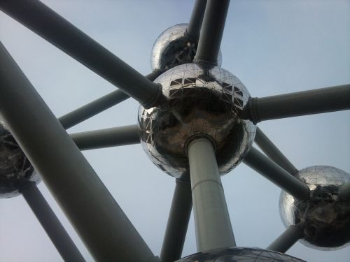 atomium brussels bullets