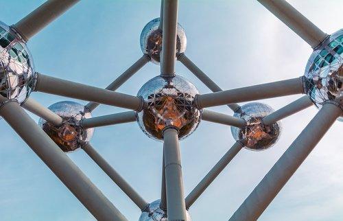 atomium  belgium  architecture
