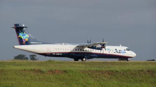 atr blue plane