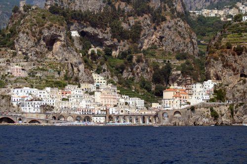 atrani amalfi coast sea
