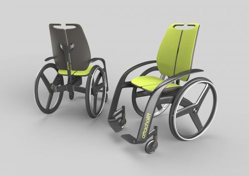 attachalift new concept arms chair titane design