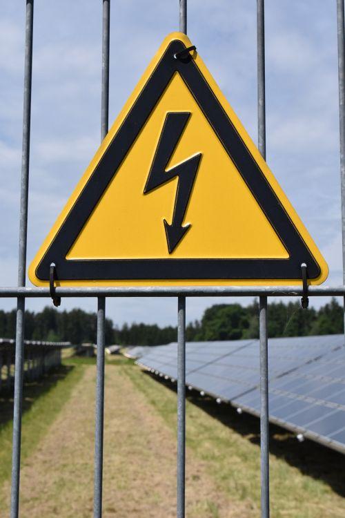 attention current high voltage
