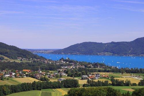 attersee  lake  abtsdorf