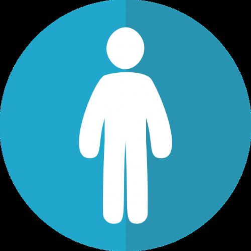 attribution icon person icon male icon