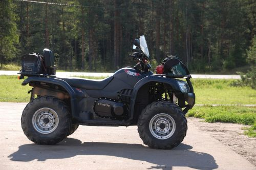 atv transport road