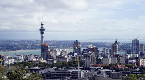 auckland skytower new zealand