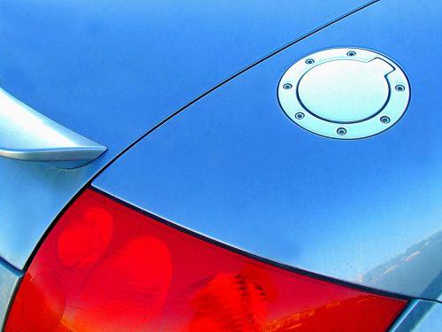 car fuel cap car fuel filler blue car