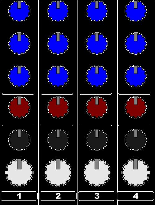 audio knobs sound