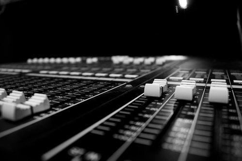 audio  closeup  console