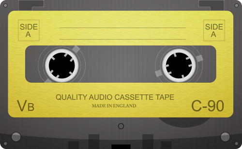 audio cassette cassette tape audio