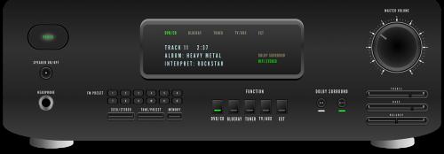 audio receiver stereo hifi