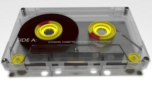 audio tape cassette music